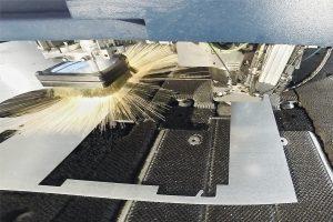 Stanzen, Lasern und Laserschweißen in der Blechverarbeitung