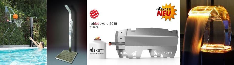 Skotti-Grill, Gartenduschen von IDEAL Eichenwald und Mehr! Gartenduschen-Shop.de